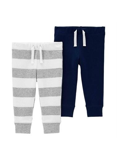 Carters Carter'S 2'Li Bebek Pantolonu Lacivert